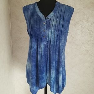 New Directions sleeveless tunic